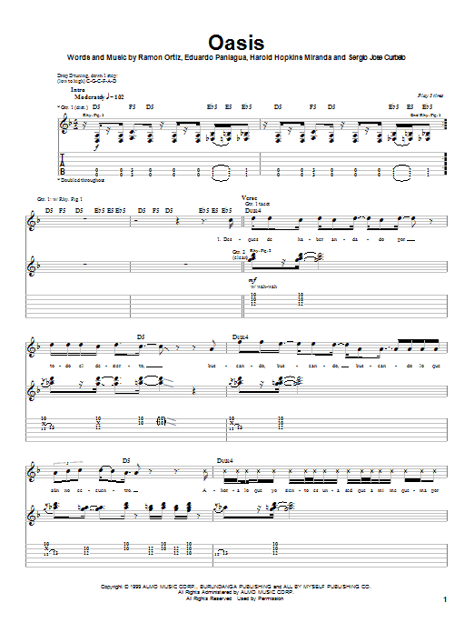 Puya Oasis sheet music notes and chords. Download Printable PDF.