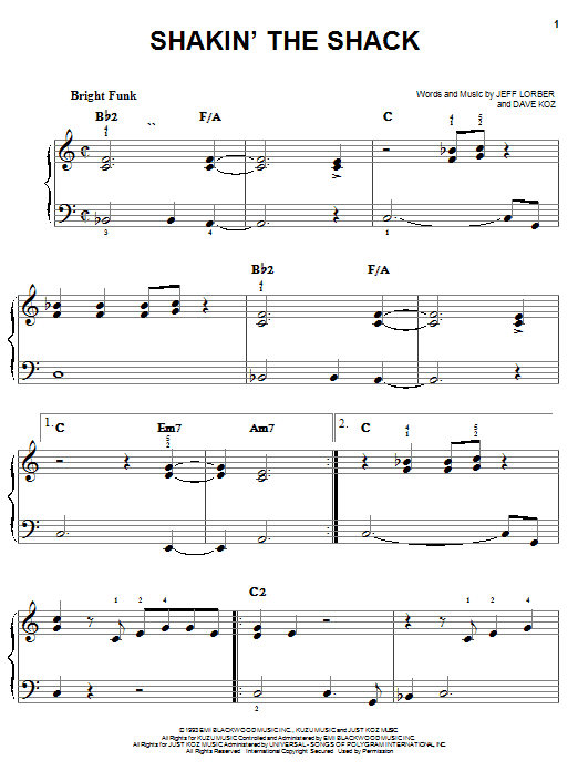 Dave Koz Shakin' The Shack sheet music notes and chords. Download Printable PDF.
