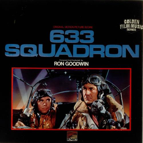 Ron Goodwin, 633 Squadron, Piano, sheet music, piano notes, chords, song, artist, awards, billboard, mtv, vh1, tour, single, album, release