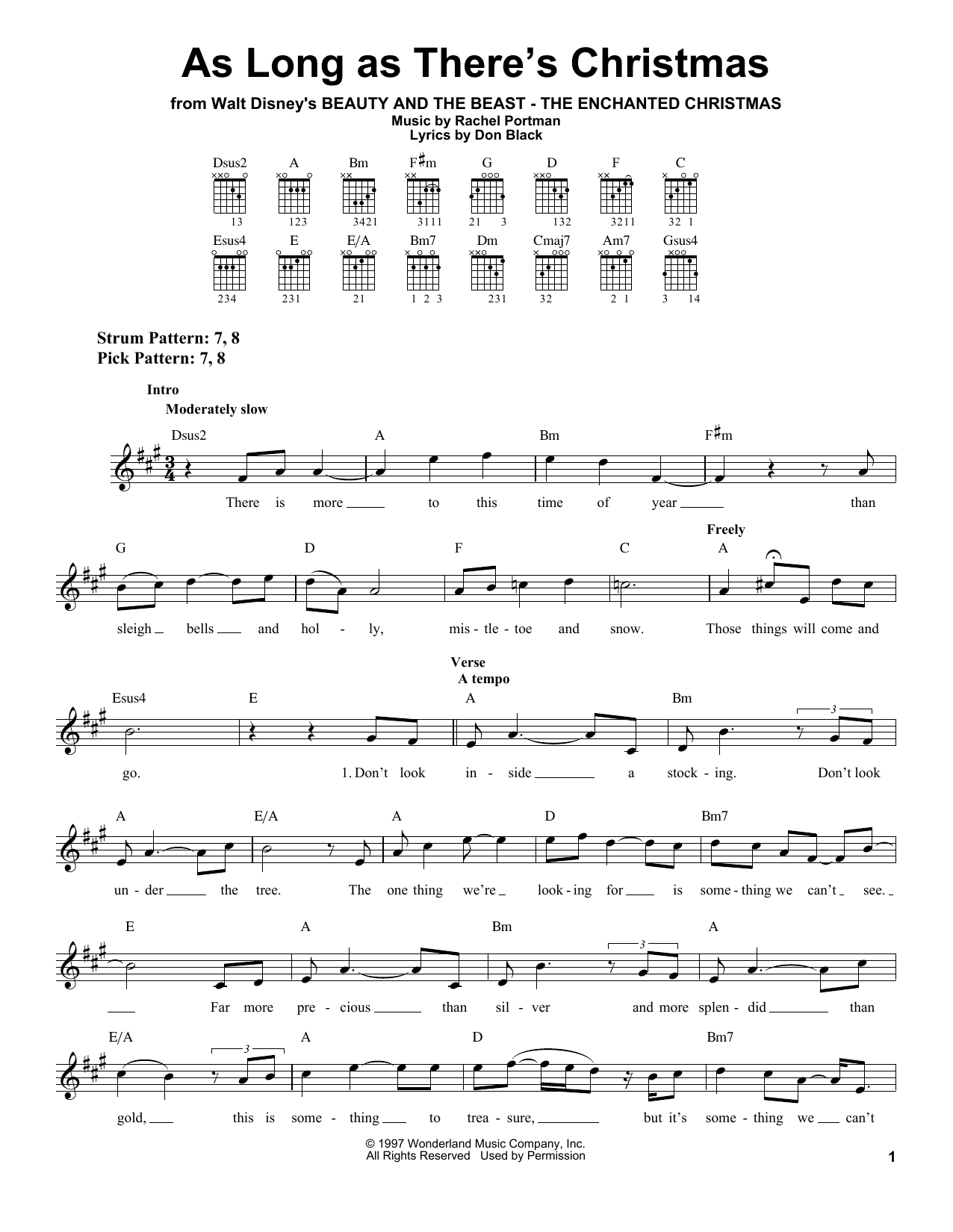 Peabo Bryson and Roberta Flack As Long As There's Christmas sheet music notes and chords. Download Printable PDF.