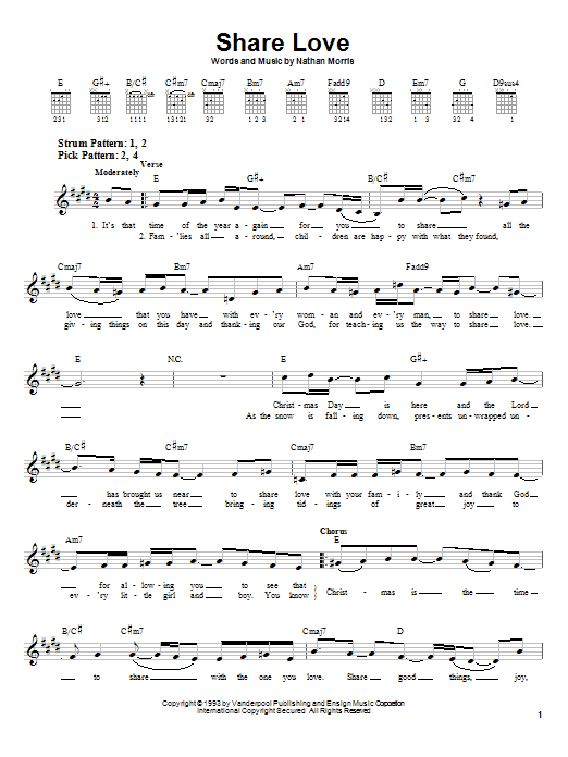 Boyz II Men Share Love sheet music notes and chords. Download Printable PDF.