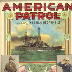 Download or print F.W. Meacham The American Patrol Sheet Music Printable PDF -page score for American / arranged Melody Line, Lyrics & Chords SKU: 251170.