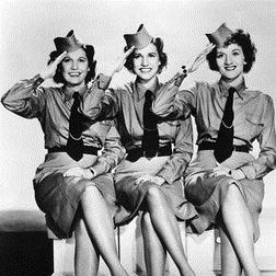 Download or print The Andrews Sisters I'll Be With You In Apple Blossom Time Sheet Music Printable PDF -page score for Jazz / arranged Piano SKU: 27945.