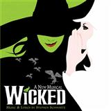 Download or print Stephen Schwartz Defying Gravity (from the Broadway Musical Wicked) Sheet Music Printable PDF -page score for Broadway / arranged Piano, Vocal & Guitar (Right-Hand Melody) SKU: 28383.