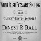 Download or print Ernest R. Ball When Irish Eyes Are Smiling Sheet Music Printable PDF -page score for Folk / arranged Piano SKU: 32586.