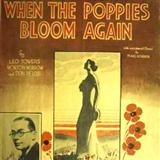 Download or print Don Pelosi When The Poppies Bloom Again Sheet Music Printable PDF -page score for Pop / arranged Piano, Vocal & Guitar (Right-Hand Melody) SKU: 36510.