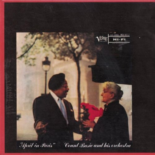 Count Basie, April In Paris, Clarinet, sheet music, piano notes, chords, song, artist, awards, billboard, mtv, vh1, tour, single, album, release