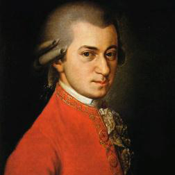 Download or print Wolfgang Amadeus Mozart Symphony No. 40 in G Minor, 1st Movement Excerpt Sheet Music Printable PDF -page score for Classical / arranged Piano (Big Notes) SKU: 50373.