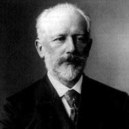 Download or print Pyotr Ilyich Tchaikovsky Adagio 'A La Rose' Sheet Music Printable PDF -page score for Classical / arranged Easy Piano SKU: 54001.