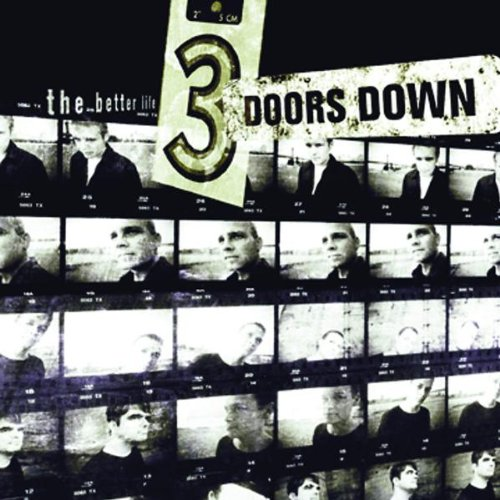 3 Doors Down, Kryptonite, Piano, Vocal & Guitar (Right-Hand Melody), sheet music, piano notes, chords, song, artist, awards, billboard, mtv, vh1, tour, single, album, release