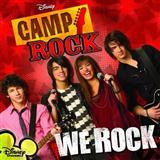 Download or print Camp Rock (Movie) We Rock Sheet Music Printable PDF -page score for Pop / arranged Piano, Vocal & Guitar (Right-Hand Melody) SKU: 65143.