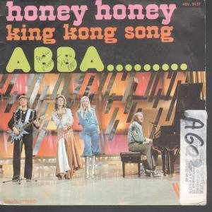 ABBA, Honey, Honey, Piano, Vocal & Guitar (Right-Hand Melody), sheet music, piano notes, chords, song, artist, awards, billboard, mtv, vh1, tour, single, album, release