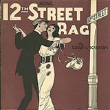 Download or print Euday L. Bowman Twelfth Street Rag Sheet Music Printable PDF -page score for Jazz / arranged Piano SKU: 65804.