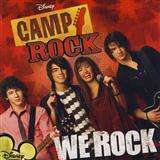Download or print Camp Rock (Movie) We Rock Sheet Music Printable PDF -page score for Pop / arranged Easy Piano SKU: 73393.