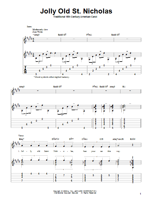 Traditional Carol A Jolly Merry Christmas sheet music notes and chords. Download Printable PDF.