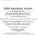 Download or print The Sacred Harp Beach Spring (Lord, Whose Love In Humble Service) Sheet Music Printable PDF -page score for Sacred / arranged Piano SKU: 87035.