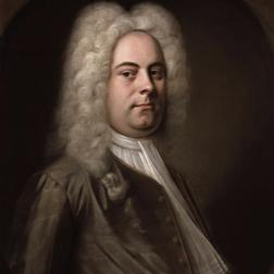 Download or print George Frideric Handel Siam Lieti (Rejoice With Happy Singing) (arr. Patrick M. Liebergen) Sheet Music Printable PDF -page score for Concert / arranged 3-Part Mixed SKU: 87666.