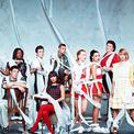 Download or print Glee Cast Rolling In The Deep Sheet Music Printable PDF -page score for Rock / arranged Piano SKU: 89255.