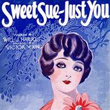 Download or print Will J. Harris Sweet Sue-Just You Sheet Music Printable PDF -page score for Jazz / arranged Real Book - Melody & Chords - C Instruments SKU: 93423.
