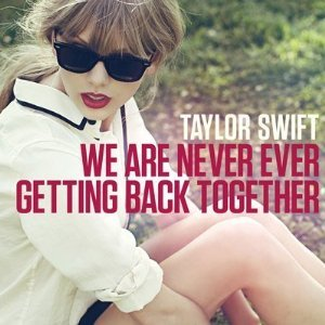 Taylor Swift, Taylor Swift We Are Never Ever Getting Back Together Piano (Big Notes) Pop, Piano (Big Notes), sheet music, piano notes, chords, song, artist, awards, billboard, mtv, vh1, tour, single, album, release