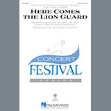 Download or print Alan Billingsley Here Comes The Lion Guard Sheet Music Printable PDF -page score for Pop / arranged SAB SKU: 171496.