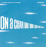 Download or print Alan Jay Lerner On A Clear Day (You Can See Forever) Sheet Music Printable PDF -page score for Jazz / arranged Real Book - Melody, Lyrics & Chords - C Instruments SKU: 61258.