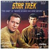 Download or print Alexander Courage Star Trek Main Theme Sheet Music Printable PDF -page score for Film and TV / arranged Piano SKU: 99520.