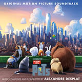 Download or print Alexandre Desplat Rooftop Route Sheet Music Printable PDF -page score for Children / arranged Piano SKU: 176057.