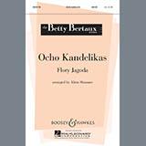 Download or print Alicia Shumate Ocho Kandelikas Sheet Music Printable PDF -page score for Hanukkah / arranged Unison Choral SKU: 73344.