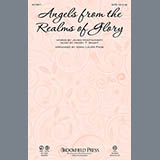 Download or print Anna Laura Page Angels From The Realms Of Glory Sheet Music Printable PDF -page score for Religious / arranged Percussion SKU: 99655.