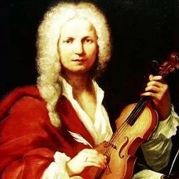 Download or print Antonio Vivaldi Concerto No.2 (2nd Movement: Larghetto) from 'L'Estro Armonico' Op.3 Sheet Music Printable PDF -page score for Classical / arranged Piano SKU: 31877.