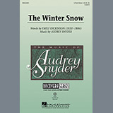 Download or print Audrey Snyder The Winter Snow Sheet Music Printable PDF -page score for Concert / arranged 3-Part Mixed SKU: 97910.