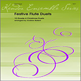 Download or print Balent Festive Flute Duets (10 Grade 4 Christmas Duets) Sheet Music Printable PDF -page score for Unclassified / arranged Wind Ensemble SKU: 124752.