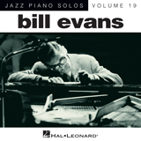 Download or print Bill Evans Tenderly Sheet Music Printable PDF -page score for Jazz / arranged Piano SKU: 86870.
