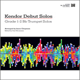 Download or print Chapman Kendor Debut Solos - Bb Trumpet Sheet Music Printable PDF -page score for Unclassified / arranged Brass Solo SKU: 124988.