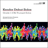 Download or print Chapman Kendor Debut Solos - Bb Trumpet - Piano Accompaniment Sheet Music Printable PDF -page score for Unclassified / arranged Brass Solo SKU: 125007.