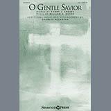 Download or print Charles McCartha O Gentle Savior Sheet Music Printable PDF -page score for Hymn / arranged SAB SKU: 157120.