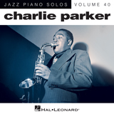 Download or print Charlie Parker Now's The Time Sheet Music Printable PDF -page score for Jazz / arranged Piano SKU: 164640.