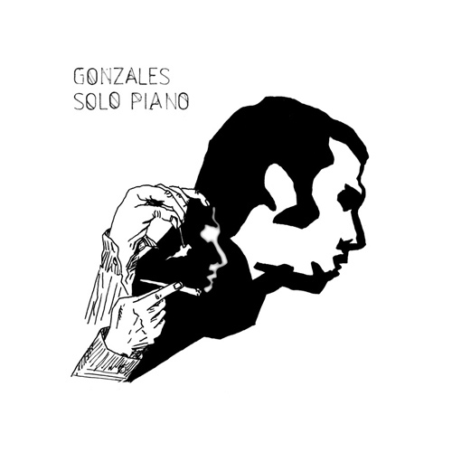 Download or print Chilly Gonzales Over Night Sheet Music Printable PDF -page score for Pop / arranged Piano SKU: 93917.