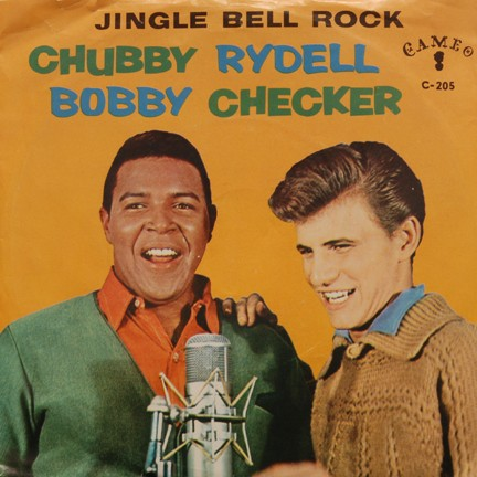 Download or print Chubby Checker Jingle Bell Rock Sheet Music Printable PDF -page score for Rock N Roll / arranged SATB SKU: 39504.