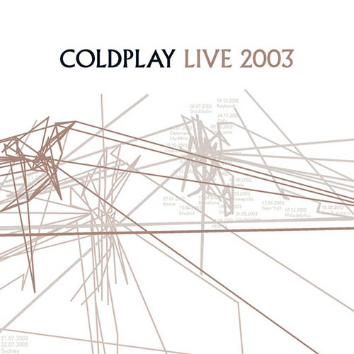 Easily Download Coldplay Printable PDF piano music notes, guitar tabs for  Piano, Vocal & Guitar. Transpose or transcribe this score in no time - Learn how to play song progression.