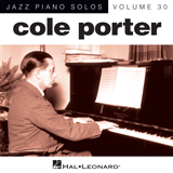 Download or print Cole Porter I Love Paris Sheet Music Printable PDF -page score for Jazz / arranged Piano SKU: 155743.