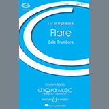 Download or print Dale Trumbore Flare Sheet Music Printable PDF -page score for Festival / arranged SSA SKU: 158993.