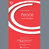 Download or print Daniel Brewbaker Peace Sheet Music Printable PDF -page score for Concert / arranged Unison Choral SKU: 160135.