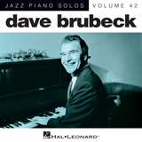 Download or print Dave Brubeck Indiana (Back Home Again In Indiana) Sheet Music Printable PDF -page score for Jazz / arranged Piano SKU: 181223.