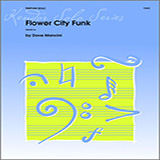 Download or print Dave Mancini Flower City Funk Sheet Music Printable PDF -page score for Unclassified / arranged Percussion SKU: 124913.