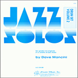 Download or print Dave Mancini Jazz Solos For Drum Set, Volume 2 Sheet Music Printable PDF -page score for Unclassified / arranged Percussion SKU: 124888.