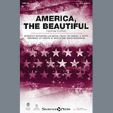 Download or print David Angerman America, The Beautiful - Festival Edition Sheet Music Printable PDF -page score for American / arranged SATB SKU: 177032.
