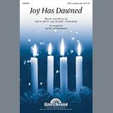 Download or print David Angerman Joy Has Dawned Sheet Music Printable PDF -page score for Concert / arranged Choral SKU: 96546.