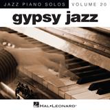Download or print Django Reinhardt Dark Eyes Sheet Music Printable PDF -page score for Jazz / arranged Piano SKU: 90112.